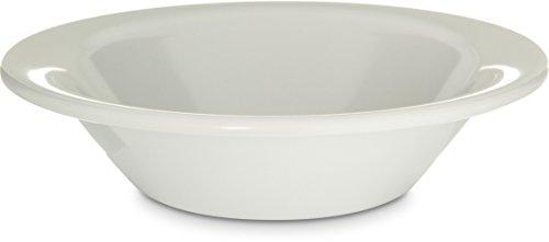 Carlisle KL80002 Kingline Melamine Rimmed Fruit Bowl, 5 oz. Capacity, 1.26