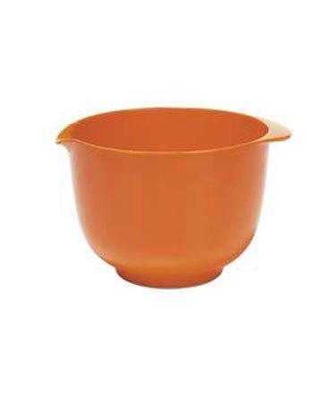 Orange Melamine Mixing Bowl By Trudeau - 1.5 Quart