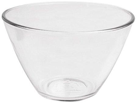 Anchor Hocking Splashproof Glass Mixing Bowls, 4 Quart (Set of 2)