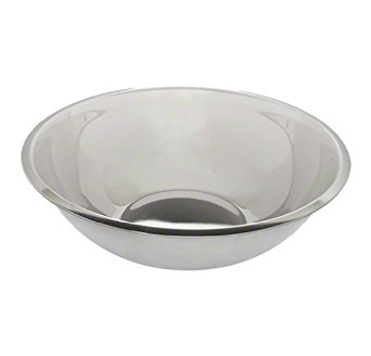 Tablecraft (H828) 13 qt Stainless Steel Heavyweight Mixing Bowl