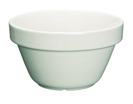 Kitchen Craft Home Made Traditional Stoneware Pudding Basin, 11.5cm (0.3 Litre)