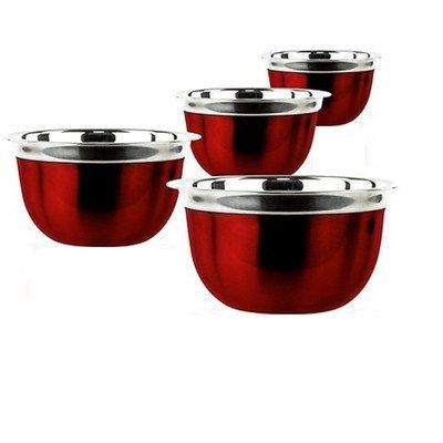 4 Piece Deep Mixing Bowl Set