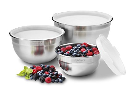 Cuisinart Stainless Steel Mixing Bowls Set of 3