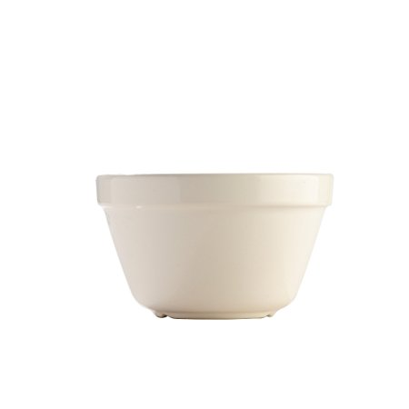 Mason Cash Steam Bowl (British Term - Pudding Basin), Cream, 0.95-Quart