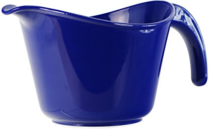 Calypso Basics by Reston Lloyd 2-Quart Microwave Safe Batter Bowl, Indigo