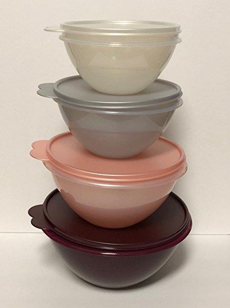 Tupperware Celebration 4pc Wonderlier Bowl Set