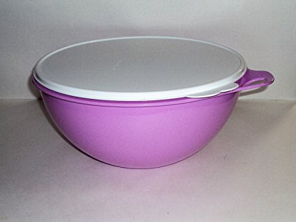 Tupperware Thatsa Bowl 32 Cups Lavender Purple Rare