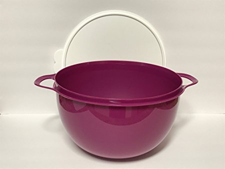 Tupperware 42 Cup Mega Thatsa Bowl in Rhubarb Purple