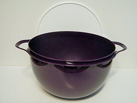 Tupperware 42 Cup Thatsa Mega Bowl in Deep Purple